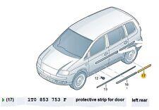 NEW GENUINE VW CADDY TOURAN NEAR SIDE REAR MOULDING 1T0853753F GRU
