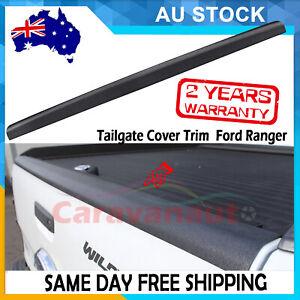 Tailgate Cover Cap Trim Rail Guard For Ford Ranger WILDTRAK PX MK1 MK2 2012-2020