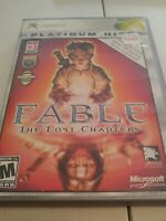 Fable: The Lost Chapters (Best of Platinum Hits) (Xbox, Xbox 360, 2005) Complete