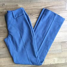 The Limited Women's Lexie Fit Dress Pants Career Blue Size 0 Long NWOT