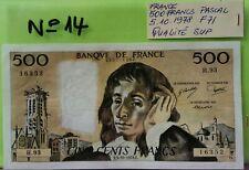 FRANCE 500 PASCAL 5.10. 1978 QUALITÉ SUP