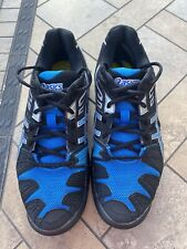 ASICS GEL-Resolution Mens Running Shoes Size 9  Blue and Black E300Y