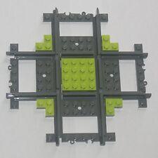 Custom Lego 90 Deg Crossing / Crossover Track (lime) Power Function & RC Train