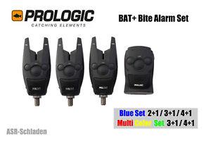 Prologic BAT Bite Alarm Set 4+1-4 Bissanzeiger Funkbissanzeiger 1 Receiver