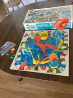 Original Vintage 1975  IDEAL Mouse Trap Game INCOMPLETE - For Parts