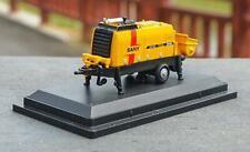 1/87 Sany original mini Super-high Pressure Trailer-mounted Concrete Pump model