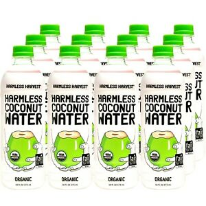 Harmless Harvest Organic Coconut Water 16 oz ( Pack of 12 )
