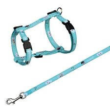 Trixie Nylon Mimi Cat Harness Lead Assorted Colours Pink Blue 41876