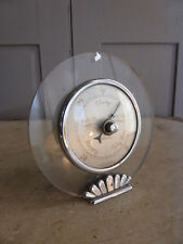 Antique Art Deco mantel barometer by Smiths