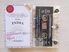 "NUYORICAN SOUL SINGLE CASSETTE, FEATURING INDIA, ""RUNAWAY"" 1997 MERCURY, TESTED."