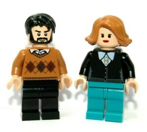 LEGO 2 Flesh Minifigure Figure  Mam Dad Boy Girl Family