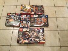 Star Wars LEGO Set Bundle (7869, 7661, 7657, 7912, 7913, 7674, 7474)
