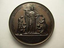 VATICANO MEDALLA ANUAL OFICIAL PAPA LEON XIII AÑO IV 1881 - BRONZE