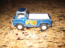 Vintage 1969 Tootsietoy Made in USA Pickup Truck Blue Boy Toy