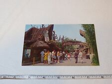 Adventureland United Air lines Tiki Walt Disneyland RARE Postcard Magic Kingdom
