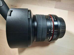 objectif samyang 14mm monture Canon Ef