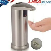 Stainless Steel Touchless Handsfree Automatic IR Sensor Soap Liquid Dispenser