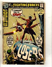 Lot Of 6 Our Fighting Forces Dc Comic Books # 137 138 144 145 146 147 Losers Fm1