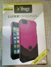iFrogz Luxe Original Apple iPhone 5 Hard Shell Case Pink NEW