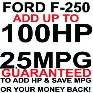 Performance Chip Ford F250 5.4L 6.2L 6.8L Truck Tuner Save Gas MPG 1997-2021