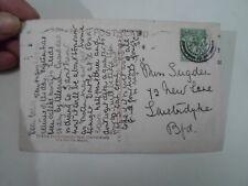 Genealogy PC: Miss E Sugden 42 New Lane Laisterdyke 1917 Family History §A985