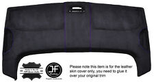 PURPLE STITCH STORAGE ROOF HEADLINING PU SUEDE COVER FITS VW CADDY MK3 05-15