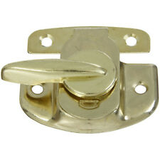 National Hardware N193-607 V602 Brass Finished Steel Tight Seal Sash Lock