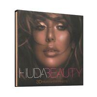 Huda Beauty 3D highlighter palette-Bronze Sands Edition Make Up