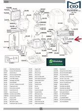 Ingranaggio Traino Rib BA10087 Per Motori Scorrevoli Vecchi K3/K5 E Nuovo K500