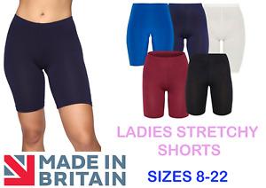 Womens High Waist Cycling Shorts Running Leggings Gym Ladies Sports Yoga Pants