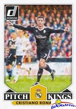 2015 Donruss Pitch Kings Cristiano Ronaldo BRONZE PRESS PROOF #/299 Real Madrid