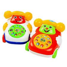 1X Bébé Enfant Éducatif Apprentissage Simulé Téléphone Mobile Jouets Jeux Eveil
