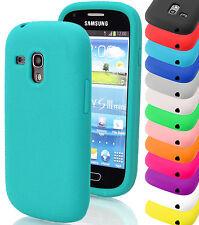 Liso Gel De Silicona Ajuste Funda Carcasa Para Samsung Galaxy De Móviles