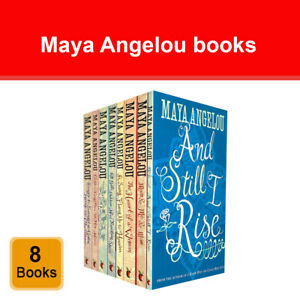 Maya Angelou 8 Books Collection Set And Still I Rise, Mom and Me and Mom NEW