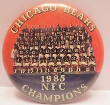 Chicago Bears 1985 NFC Champions Licensed Pin (picture of entire team) (17-149)