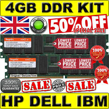 4GB (2x 2GB) PC2100R 184pin CL2.5 266Mhz DDR HP Proliant NAS B2000 v2 261586-051
