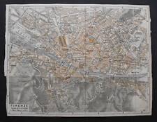 Antica Stampa=Topografica=FIRENZE =Scala1:20000 -1909c.