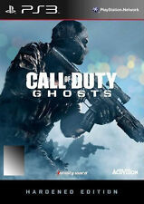 CALL OF DUTY GHOSTS HARDENED EDITION SONY PLAYSTATION 3 PS3 BRAND NEW