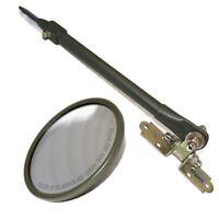 "Jeep Adjustable Arm Mirror Bracket Kit 5"" Mirror Willys MB M38 GMC M35 M42"
