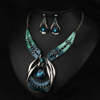 Crystal Choker Fashion Chunky Jewelry Statement Women-Chain Pendant Bib-Nec N2Q2