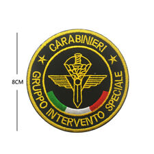Italy CARABINIERI badge Embroidery Hook patches Tactical Army Patch armband