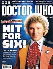 Doctor Who Magazine #489 Sept 2015 Exclusive Interview w/ 6th Doctor Colin Baker