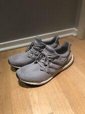 Adidas Ultraboost Grey Leather Tan Size 13