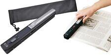 SCANNER PORTATILE A4 SENZA FILI 900 DPI COLORE SCAN USB LCD MICRO SD PC NOTEBOOK