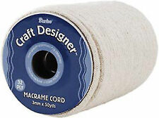Darice 1971-15 Macrame Cord 3mm 32 Ply 50 Yards/spool