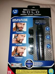 MicroTouch Solo Rasierer All in One Bart-Styler 6 tlg. Set [NEU]