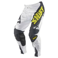$160 Shift Men's Racing Reed Replica Pant 22 Team White Yellow Size 30