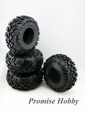 4pcs ERC6 Extreme 2.2 rock crawling tire tyre w/ foam insert for rc crawler car