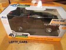 JADA BLACK 2011 FORD F-150 SVT RAPTOR CREW CAB SCALE 1:32 - NEW IN THE BOX