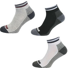 Puma Mens Unisex 1 Pack Ankle Black White Grey Trainer Liner Socks 894360 UW